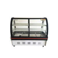 Deli Food Display Cooler Vitrine com porta de vidro